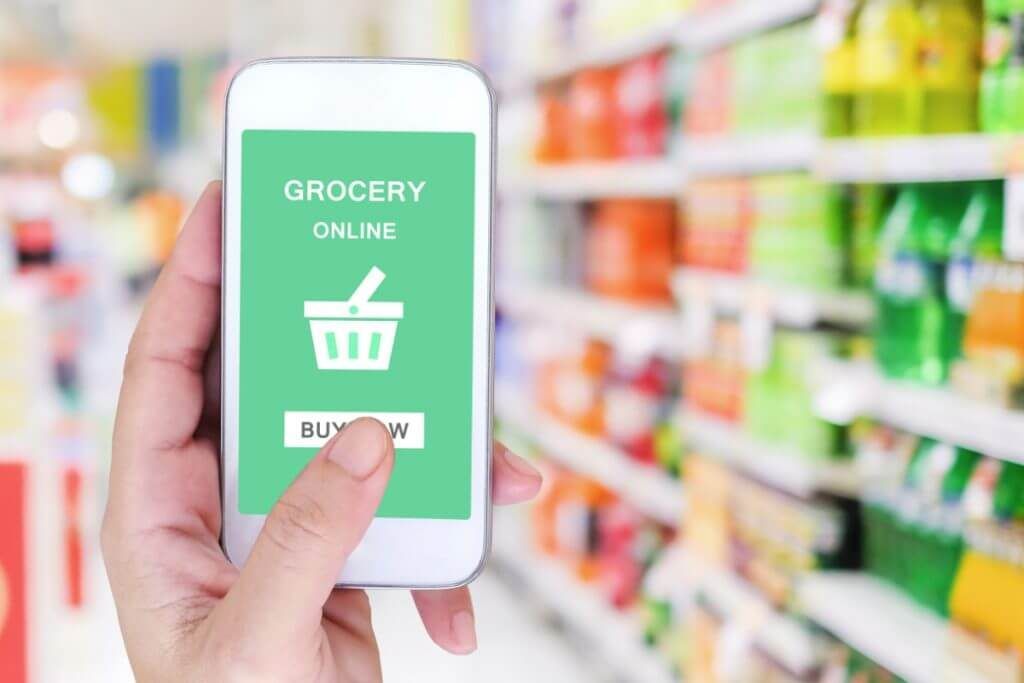 Reasons for tremendous growth in online grocery delivery business