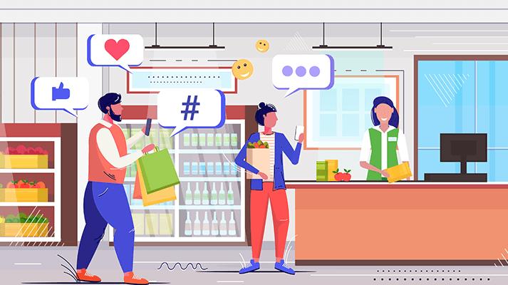 grocery shop customer feedbacks