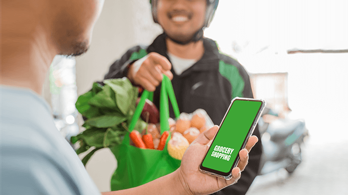 grab more customers using own grocery mobile app