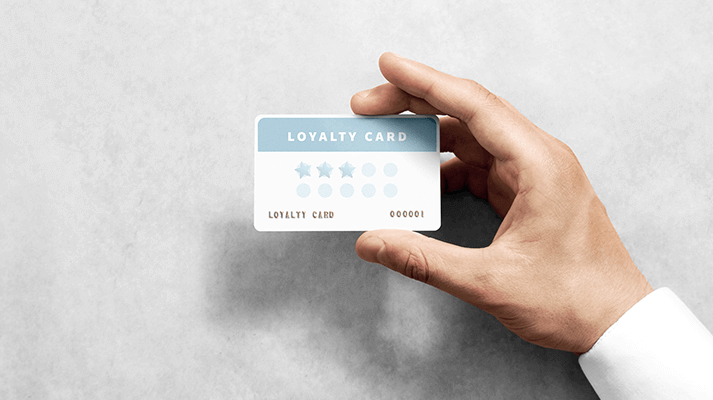 loyalty cart to grocery store customers